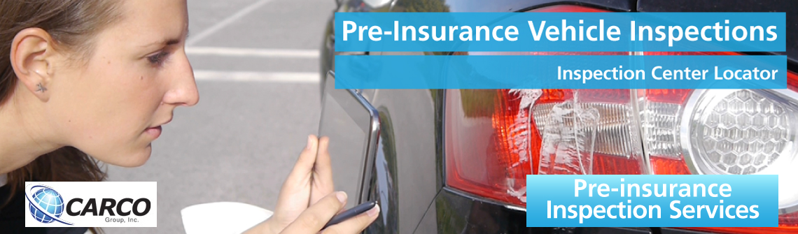official carco insurance inspection location