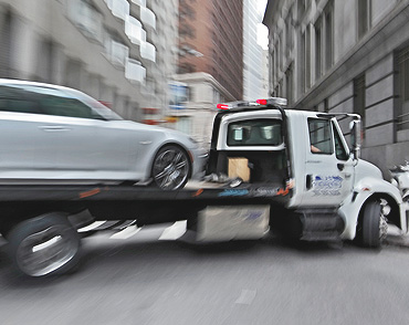 Emergency Towing in the city