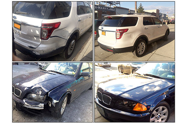Auto Body Before and After Images